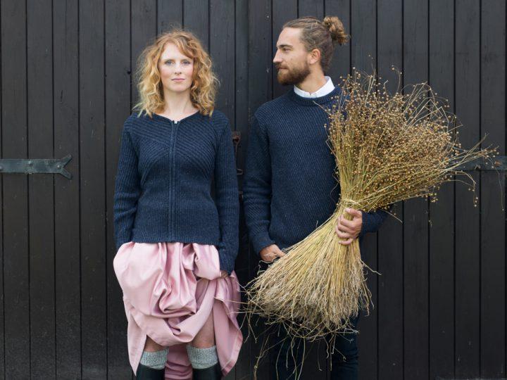First circular Fryske sweater