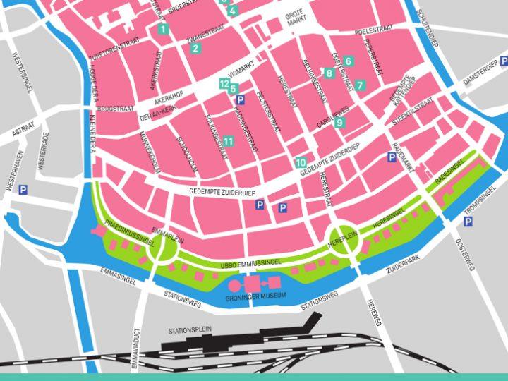 Route for Groningen ontwerpt