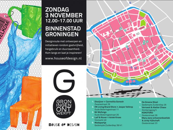 Map for Groningen Ontwerpt
